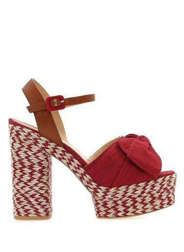 Castaner Sandalet Kırmızı